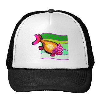 Super Colorful Retro VintageTropical Fish Trucker Hat