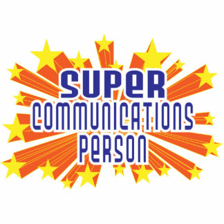 Super Communications Person Acrylic Cut Outs