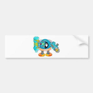 Super Comraision Go Bumper Sticker