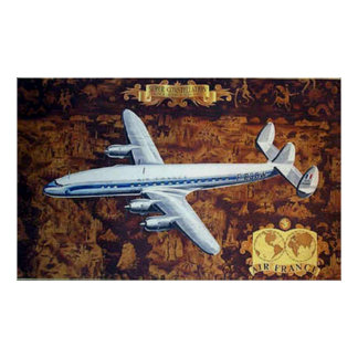Super Constellation Vintage Print
