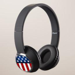 Super Cool American Flag #1 Headphones