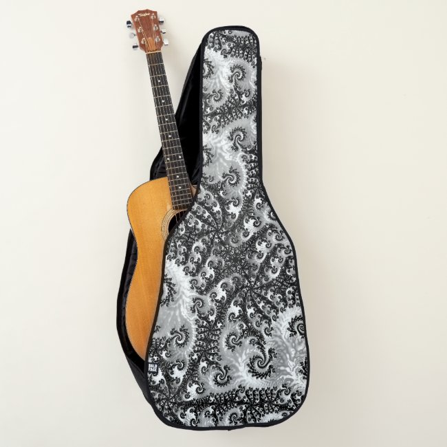 Super Cool Black and White Lacy Fractal Filigree