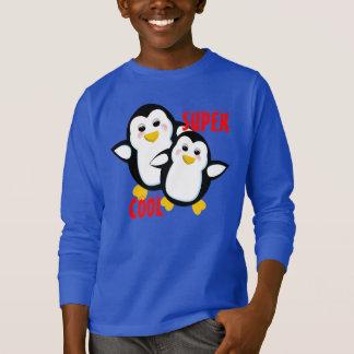 Super Cool Cute Whimsical Penguins T-Shirt