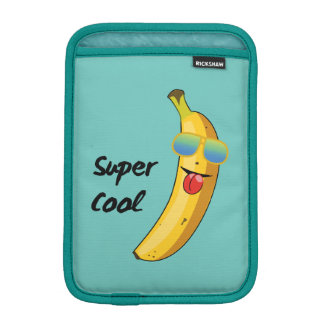 """Super Cool"" Funny Banana iPad Mini Sleeve"