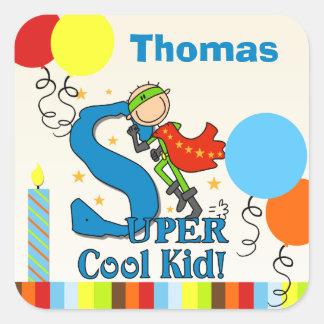 Super Cool Kid Stickers