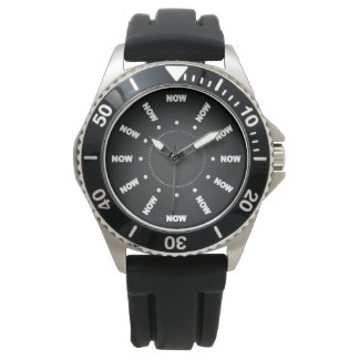 """Super Cool """"NOW"""" (Black) Watch"""