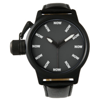 "Super Cool ""NOW""  Watch (Black) No1"