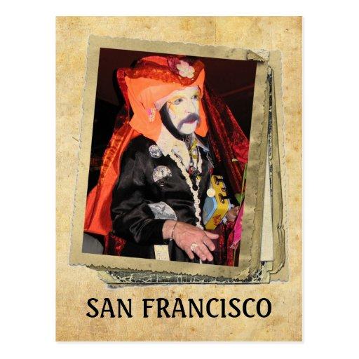 Super Cool San Francisco Postcard! Postcard