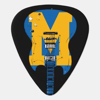 Super Cool & Stylish Rock Music Guitar Pick by mixedworld at Zazzle