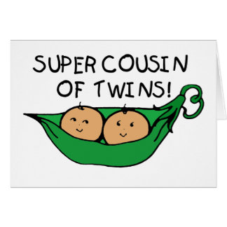 Super Cousin of Twins Pod Card