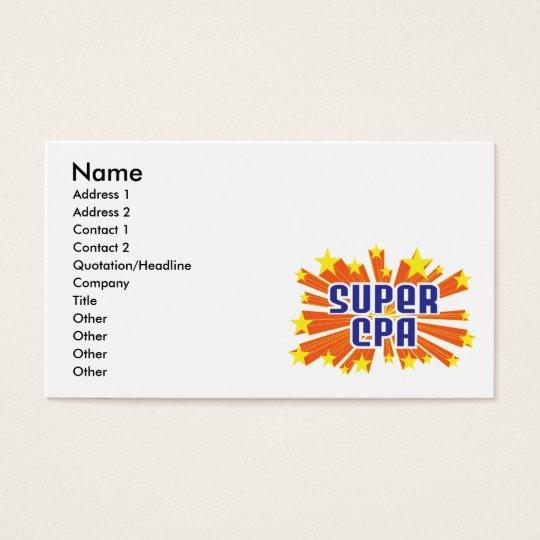Super CPA Business Card