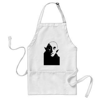 Super Creepy Nosferatu Face T-shirts, Mugs Adult Apron