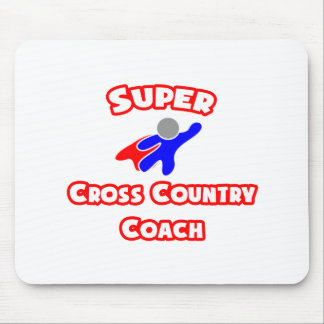 Super Cross Country Coach Mousepads