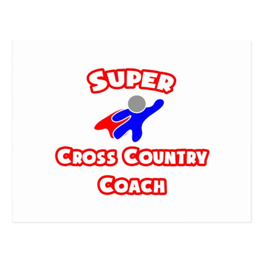 Super Cross Country Coach Postcard
