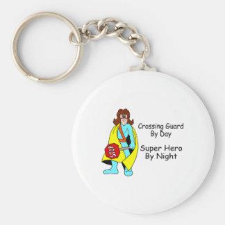 Super Crossing Guard Keychain