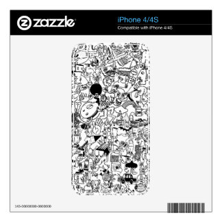 Super crowded skins for iPhone 4