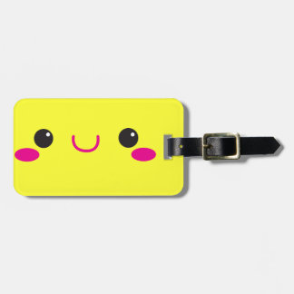 Super Cute anime Kawaii cutie face! NP Luggage Tag
