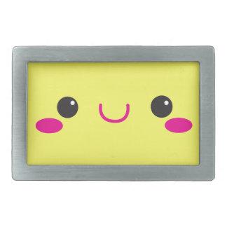 Super Cute anime Kawaii cutie face! NP Rectangular Belt Buckle