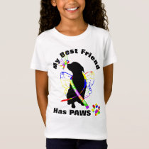 Super Cute Autism Awareness Dog Owners T-Shirt