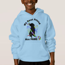 Super Cute Autism Awareness Support Dog Owners Hoodie