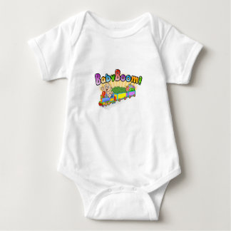 Super Cute BABY BOOM bouncer Baby Bodysuit