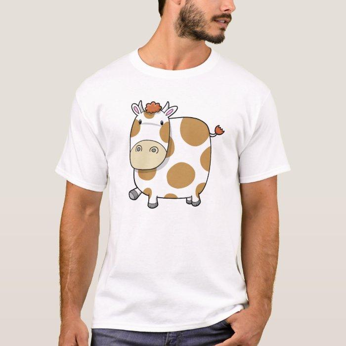 Super Cute Baby Farm Cow T-shirt