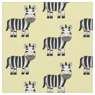 super cute baby zebra nursery fabric