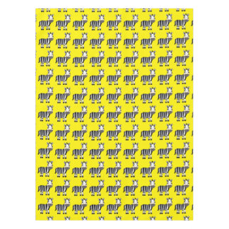 super cute baby zebra nursery tablecloth