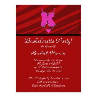 Super Cute Bachelorette Party 6.5x8.75 Paper Invitation Card