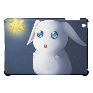 Super cute bunny rabbit catching stars iPad mini cases