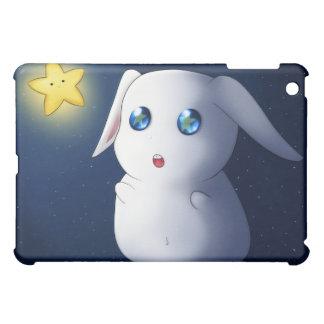 Super cute bunny rabbit catching stars iPad mini cases