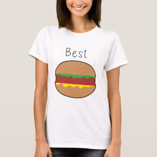 "Super Cute Burger half of ""Best Friends Burger and T-Shirt"
