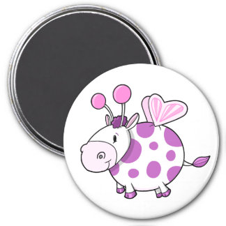 Super Cute Butterfly Fairy Cow Magnet