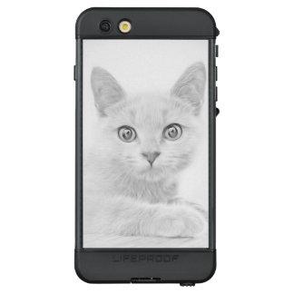 SUPER CUTE Cat Portrait LifeProof® NÜÜD® iPhone 6s Plus Case