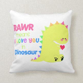 SUPER CUTE Dinosaur Pillow for kids!