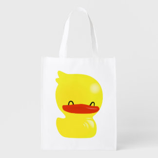 Super Cute Duckie Reusuable Grocery Bag