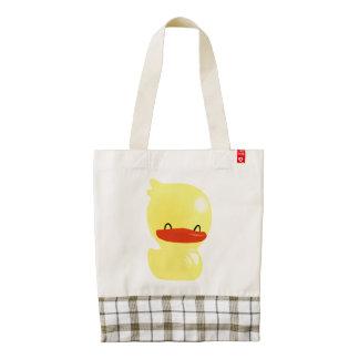 Super Cute Ducky Zazzle HEART Tote Bag