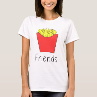"Super Cute Fries half of ""Best Friends Burger and T-Shirt"