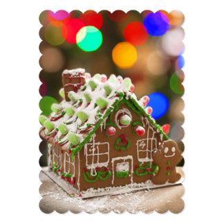 Super Cute Gingerbread House Card