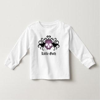 Super cute goth vampire skull top toddler tee shirt