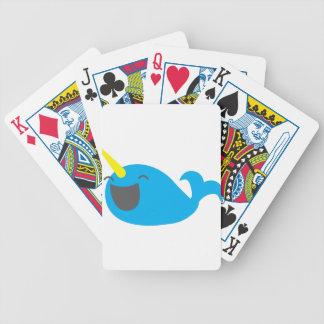 Super cute happy NARWHALE Card Decks