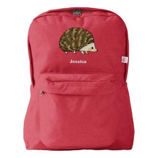 super cute hedgehog backpack