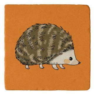 super cute hedgehog trivet