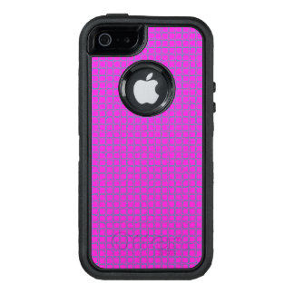 Super Cute Hot Pink Chic Pattern OtterBox Defender iPhone Case