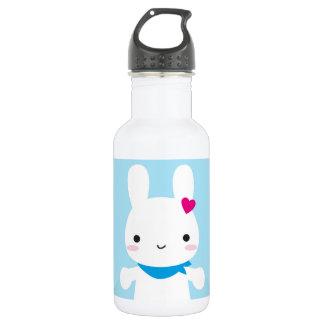 Super Cute Kawaii Bunny 18oz Water Bottle
