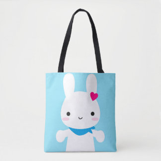 Super Cute Kawaii Bunny and Panda Tote Bag