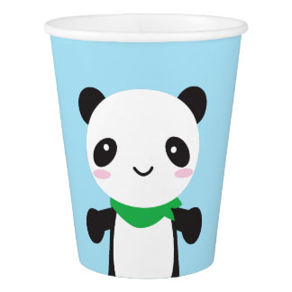 Super Cute Kawaii Panda Paper Cup