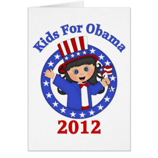 Super Cute Kids For Obama Tees and Gifts Cards