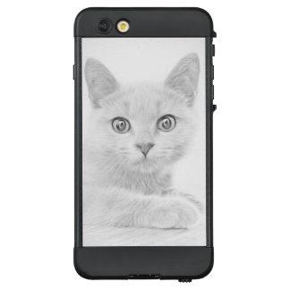 SUPER CUTE Kitten Cat Portrait LifeProof® NÜÜD® iPhone 6 Plus Case