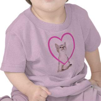 Super Cute Kitten Customizable Designs T-shirts